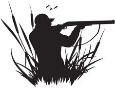 hunting silhouette - Google Search