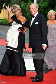 Princess Brigitta from Sweden and Prince Johann Georg of Hohenzollern attend the Government...