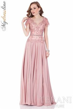 Terani Couture 1621M1716 Evening Dress ~Lowest Price Guaranteed~  Authentic