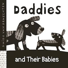 In simple blackandwhite illustrations, this board book introduces animal fathers and their babies to very young children. Familiar animals such as dogs and fish are represented, and more unusual creatures—frogs, hedgehogs, and crocodiles—will fascinate young children. The blackandwhite format and distinctive style are designed to stimulate and delight curious newborns and toddlers.