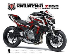 TT BIGBIKE DESIGN: KAWAZAKI Z650 DESIGN CONCEPT #2