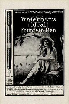 fountain pen ad.