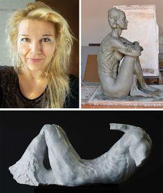 Come diventare scultrice? Quattro chiacchiere con l'artista Biljana Petrovic che ci svelerà i segreti della scultura coinvolgendoci nella su magica arte.