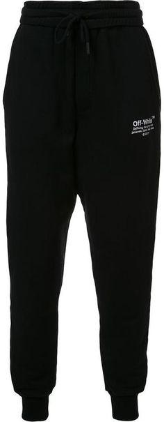 d06b4a79c6c5 Off-White logo print sweatpants. NocNoc · Mens Athletic Pants