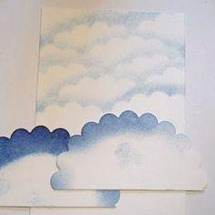 Make a sky/cloud background