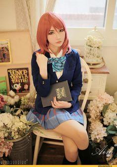 Nishikino Maki, Love Live!, School Idol Project, Love Live!  School Idol Project, Anime, anime, Anime Cosplay