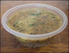 Moong Dal Curry - A tasty vegetarian curry recipe