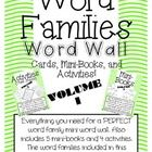 *UPDATED 11/10/12* Now includes -am word family and crossword puzzles for each word family!!!Do you teach word families