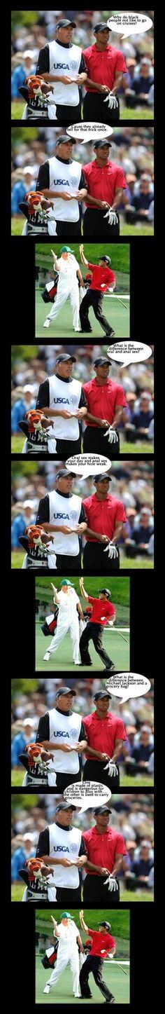Dirty med Tiger Woods