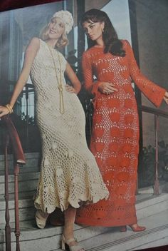 #Crochet Style Examples from 1971 McCalls