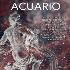 Acuario Signes Zodiac, Tarot, Aquarius Art, Java, Zodiac Signs, Facebook, Texts, Aquarius Woman, Aquarius Horoscope