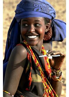 Smile from Northern Kenya