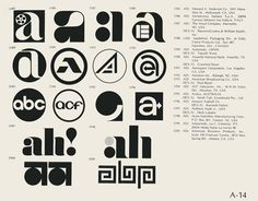 Logos / many marvelous moments seen all at once - Phenominal Flickr collection of logos from the...