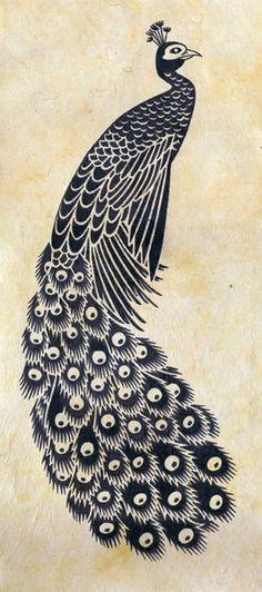 Tavuskuşu Peacock Vector