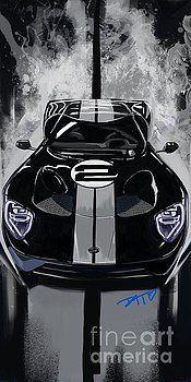 17 Ford GT by Daryl Thompson