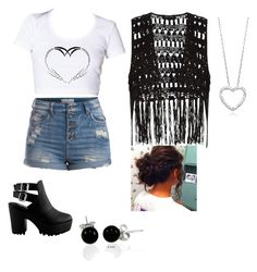 Untitled #43 by jordynmontroy on Polyvore featuring polyvore, fashion, style, Pieces and Bling Jewelry
