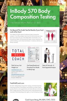 InBody 570 Body Composition Testing