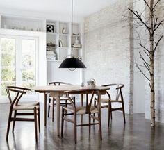 Carl Hansen & Søn CH24 Wishbone Chair von Hans J. Wegner, 1950 - Designermöbel von smow.de
