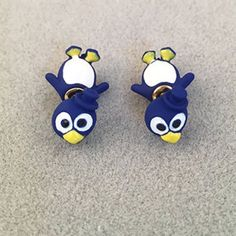 Pair of Cute Rhinestone Penguin Shape Earrings For Women-2.80 and Free Shipping  GearBest.com