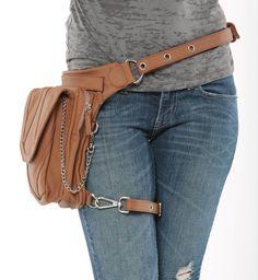 Warrior Pack Stealth 8-Way Bag - Saddle Brown | Warrior Creek - Unique Fashion Accessories