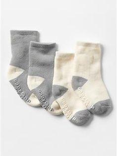 Organic colorblock socks (2-pack) | Gap