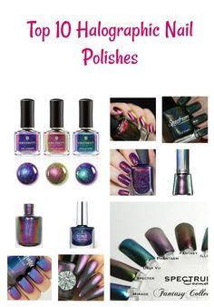 Holographic Nail Pol