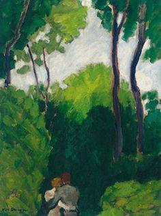 Kees van Dongen - Couple dans un bois