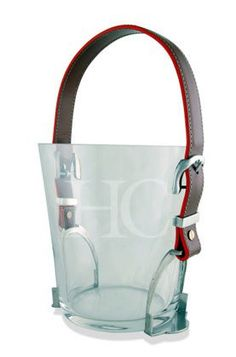 Horse Country Store - Belmont Stirrup and Straps Ice Bucket - for the person that literally has everything