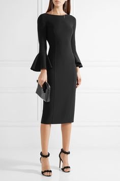 Michael Kors Collection - Stretch-wool Dress - Black - US