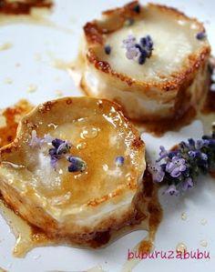 Buburuza Bubu: Salata cu Branza de Capra si Miere