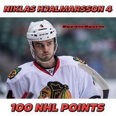 Niklas HJalmarsson Reaches 100 NHL Points   Spyder Sports Lounge