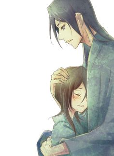 Byakuya and Hisanna. Love them together. But she died.