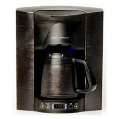 built in coffee maker brew express