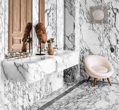 Home Interior Inspiration .Home Interior Inspiration Bathroom Inspiration, Interior Inspiration, Design Inspiration, Bathroom Interior Design, Interior Decorating, Eclectic Bathroom, Modern Bathroom, Master Bathroom, Arabescato Marble