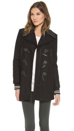 Gryphon Varsity Pea Coat, $856
