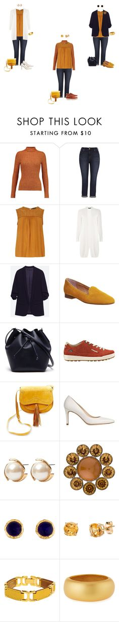 """Mustard yoke blouse/jeans 1"" by tracy-gowen ❤ liked on Polyvore featuring Just Cavalli, Melissa McCarthy Seven7, Dorothy Perkins, Office, Lacoste, Steven, L.K.Bennett, Louche, Louis Vuitton and Chanel"