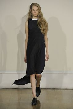J. JS Lee SS13 London Fashion Week - A more casual look