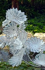 Chihuly art glass The Art Of Glass, Blown Glass Art, Glass Artwork, Stained Glass Art, Dale Chihuly, Glass Garden, Garden Art, Wow Art, Glass Design