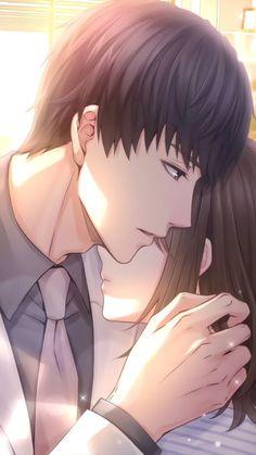 Anime Cupples, Anime Kiss, Manga Couple, Anime Love Couple, Anime Couples Drawings, Anime Couples Manga, Whatsapp Pink, Desenhos Love, Anime Love Story