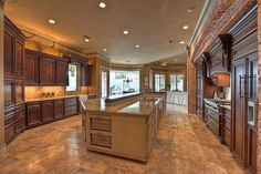 love the large island w/raised area with LOTS of outlets!! -db  ||  The Woodlands, TX 77380 - Zillow