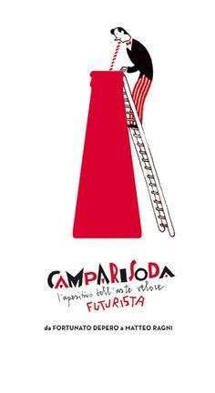 Campari Soda ~ Steven Guarnaccia