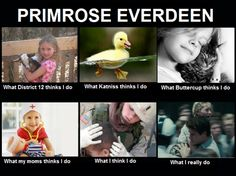 Primrose Everdeen. I just got to the part in mockinjay when she dies. It's Sooooo sad!!