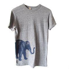 Elephant Heather Tee