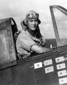 Nicholas J. Smith III, Hellcat pilot of VF-13, 1945