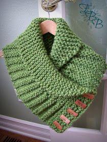 Letras e Artes da Lalá: Golas de tricô e de crochê - SEM receitas (fotos: pinterest.com)