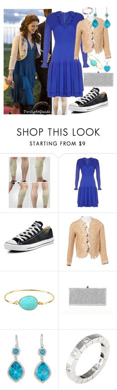 """""""Bella Swan from Twilight Saga(prom look)"""" by fandom-girl365790 ❤ liked on Polyvore featuring Jean Muir, Converse, Chloé, Thelonious, Jimmy Choo, Cartier and Glitzy Rocks"""