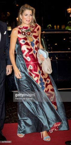 Queen Maxima of The Netherlands attend the premiere of the ballet performance Ode to the Master at the National Opera & Ballet on September 15, 2017 in Amsterdam, Netherlands. The National ballet brings a tribute to the permanent choreographer Hans van Manen, on the occasion of his 85th birthday.