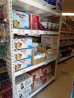 Wide Span Shelving for Pet Store with #Statwall sides!
