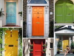 DIY Home Renovation Ideas #1: repaint the front door. #airtasker #refresh #renovate #colourful #door
