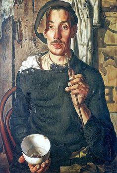 Dick Ket, self-portrait